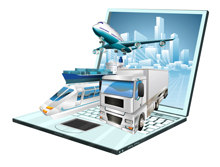 stock illustration 17821354 logistics laptop computer concept About Us